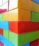 Legostukken Royalty-vrije Stock Afbeeldingen