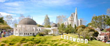 Legowood Hollywood Replica Royalty Free Stock Image