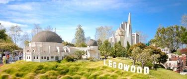 Legowood Hollywood Replik lizenzfreies stockbild