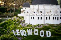 Legowood w Legoland San Diego, Kalifornia Fotografia Stock