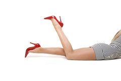 Legs stock photography