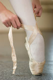 Legs of ballerina Royalty Free Stock Photo