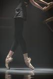 Legs of ballerina Stock Images