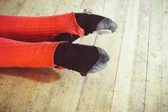 Ballerina`s feet, art stock photos