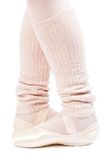 Legs in ballet shoes 3 Stock Image