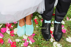 Legs bridal Stock Photo