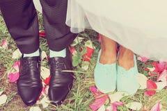 Legs bridal, tinted Royalty Free Stock Photos