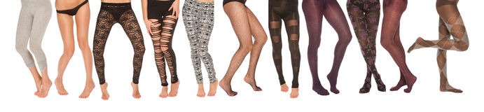 Legs collection Royalty Free Stock Image