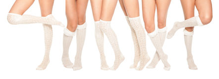 Legs collection Royalty Free Stock Images