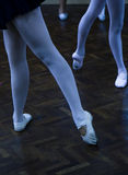 Legs of dancers Royalty Free Stock Image