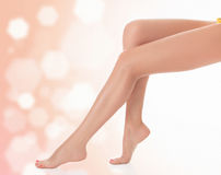 Legs after depilation Royalty Free Stock Photo