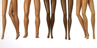 Legs From Dolls Stock Photos