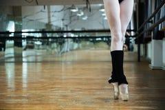 Legs graceful ballerina Royalty Free Stock Images