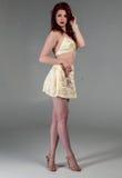 Legs and heels Stock Photo