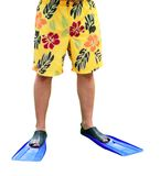 Legs In Flippers Stock Image