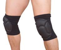 Legs with knee caps Stock Photos