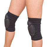 Legs with knee caps Stock Images