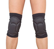 Legs with knee caps Royalty Free Stock Images