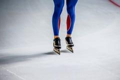 Legs men skater Royalty Free Stock Photo