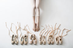 Free Legs Of A Young Ballerina Stock Images - 90837934