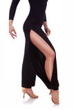 Legs Of A Young Woman Salsa Dancer