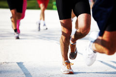 legs runners Royaltyfria Bilder