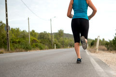 Legs running Royalty Free Stock Images