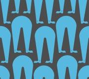 Legs seamless pattern. feet background. Vector texture Stock Photography