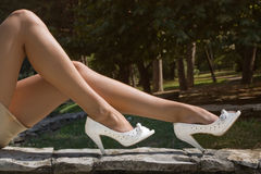 Legs and shoes Royalty Free Stock Photos