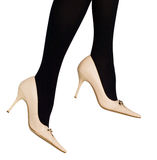 Legs in shoes Stock Photos