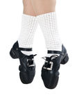 Legs in shoes for irish dancing Royalty Free Stock Photography
