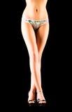 legs slim woman Στοκ εικόνα με δικαίωμα ελεύθερης χρήσης