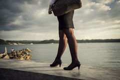 Legs and stockings Royalty Free Stock Image