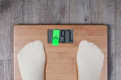 Funny weight concept stock photos