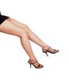 Legs of woman. Stock Photo