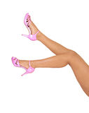 Legs of young woman. Stock Photo