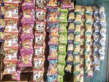 Legt kurkaray crax voor kinderen Stock Foto