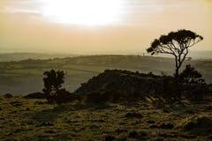 Legt van Liskeard, Cornwall, het UK vast Stock Afbeeldingen
