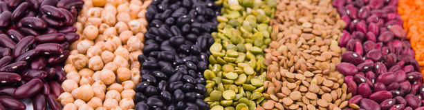 Legume collection Stock Photography