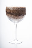 Legume in a cup. A big cup of legume Stock Photography