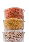 Legume e fagioli dei granuli Fotografie Stock Libere da Diritti