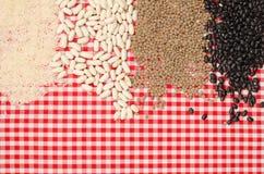 Legumes background Stock Photos