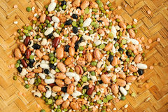 Legumes beans for background Royalty Free Stock Image