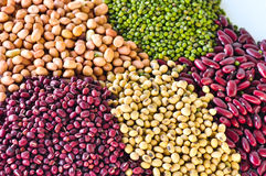 Legumes are beneficial to health. Royalty Free Stock Photography