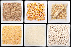 Legumes and cereals Royalty Free Stock Photography
