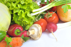 Legumes frescos Fotos de Stock Royalty Free
