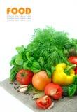 Legumes frescos Fotografia de Stock