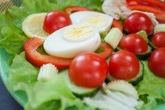 Legumes frescos com close up dos ovos Imagem de Stock