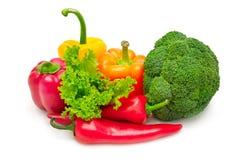 legumes frescos da coleção Foto de Stock