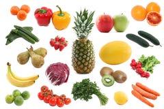 Legumes frescos e frutas Fotos de Stock Royalty Free